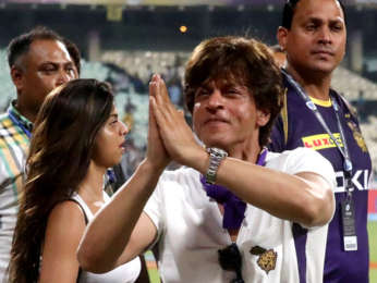 Shah Rukh Khan and Suhana Khan snapped at Eden Garden