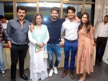 Shahid Kapoor, Mira Rajput, Karan Johar Ishaan Khatter, Malavika Mohanan and other grace the screening of Beyond The Clouds at YRF