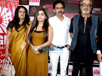Shakti Kapoor graces the poster and teaser launch of his film The Journey Of Karma