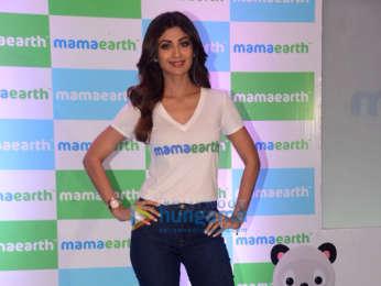 Shilpa Shetty graces the launch of Mamaearth