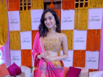 Shraddha Kapoor snapped at Veet launch in Delhi