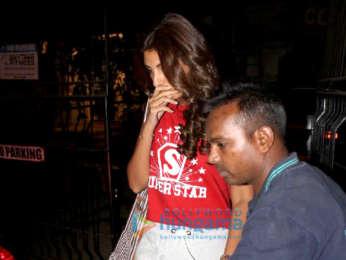 Shweta Bachchan spotted at Kromakay in Juhu
