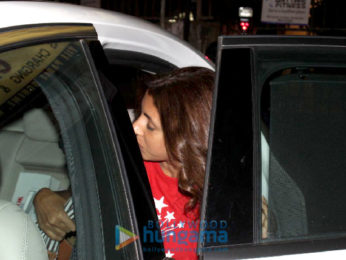 Shweta Bachchan spotted at Kromakay in Juhu