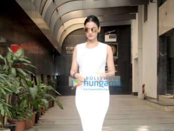 Sonal Chauhan spotted after her gym session in Bandra