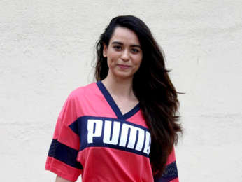 Soundarya Sharma spotted at a post workout session in Andheri