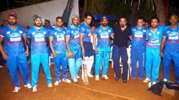 Suniel Shetty, Riteish Deshmukh, Sonu Sood and others at a match in Mumbai