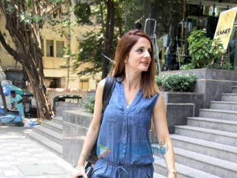 Sussanne Khan spotted at the Adidas store in Santacruz