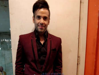 Tusshar Kapoor snapped unveiling the latest issue of a Health & Nutrition magazine