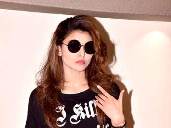 Urvashi Rautela snapped in Mumbai