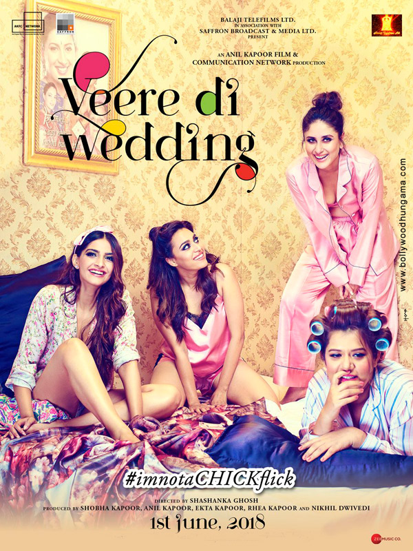 2018 - VEERE DI WEDDING (2018) con SONAM KAPOOR + Jukebox + Online Español Veere-Di-Wedding-2