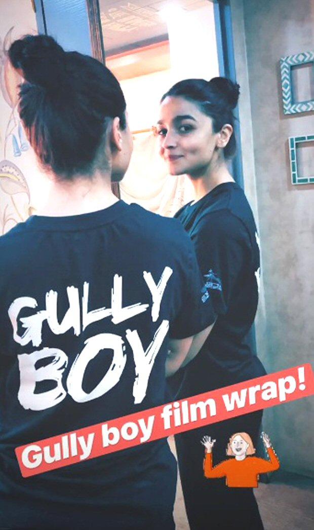 WATCH: Alia Bhatt wraps up Gully Boy with an emotional post
