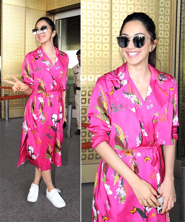 Weekly Airport Style - Kiara Advani