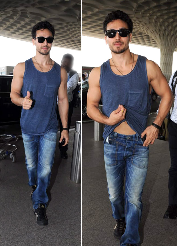 Weekly Airport Style - Tiger Shroff