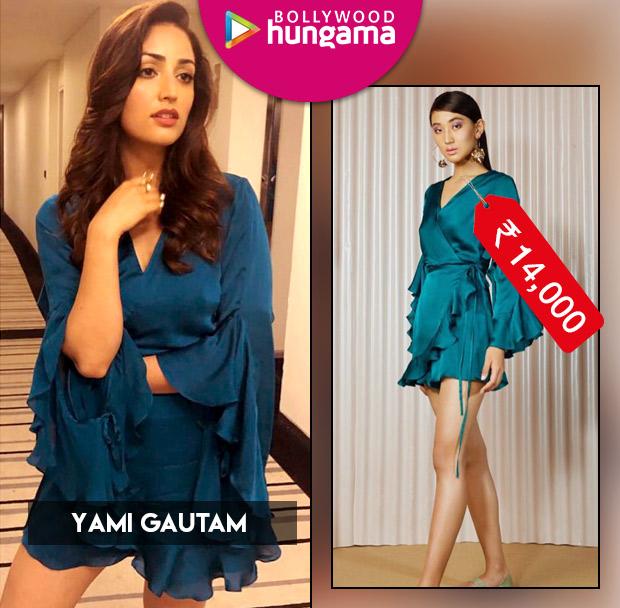 Weekly Celebrity Splurges - Yami Gautam