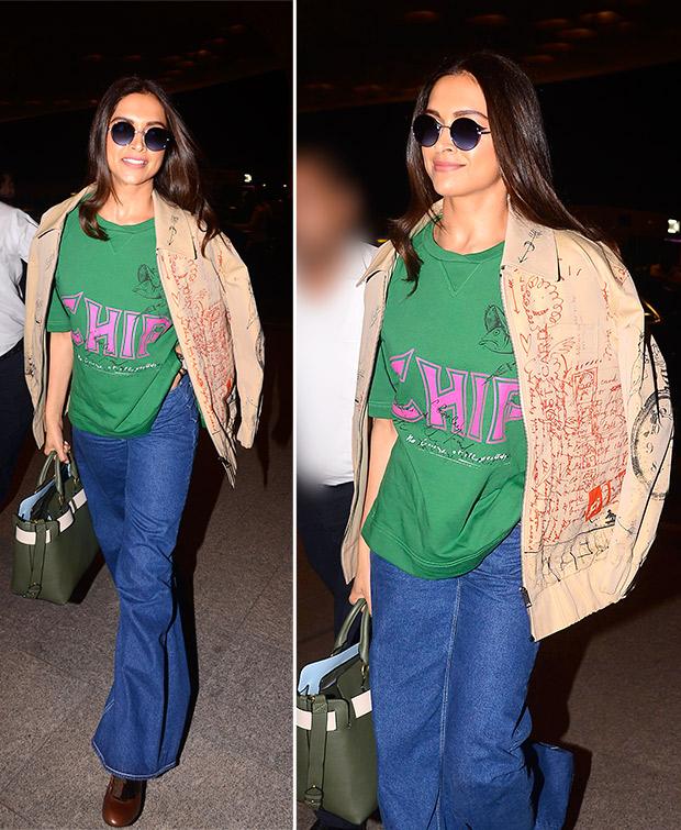 Weekly Celebrity Airport Style - Deepika Padukone