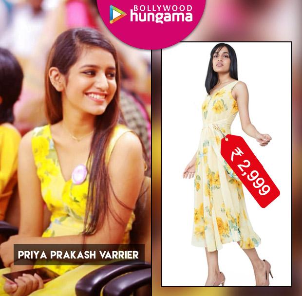 Weekly Celebrity Splurges - Priya Prakash Varrier