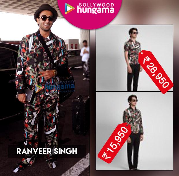 Weekly Celebrity Splurges - Ranveer Singh