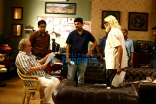On The Sets Of The Movie 102 Not Out