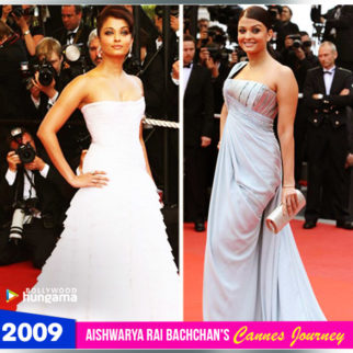 Aishwarya Rai Bachchan Cannes journey 2009