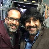 #3YearsofTanuWedsManuReturns R Madhavan reunites with Aanand L Rai on the sets of Shah Rukh Khan starrer Zero
