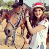 After Arjun Kapoor, Kriti Sanon takes horse riding lessons for Panipat