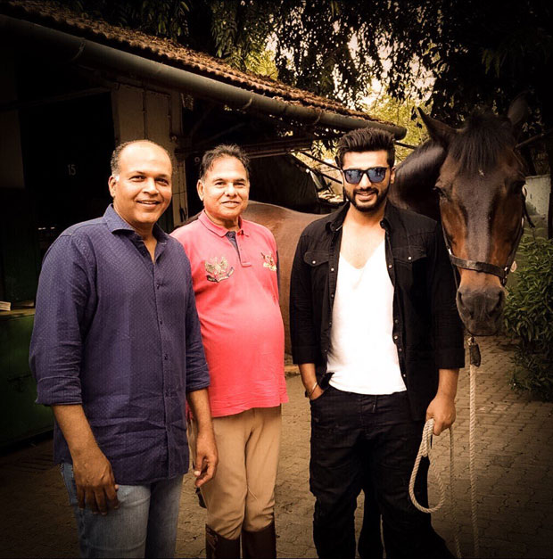 Ahead to Sonam Kapoor's wedding, Arjun Kapoor begins Panipat prep with horse riding lessons