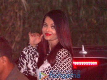 Aishwarya Rai Bachchan spotted at Yauatcha in BKC