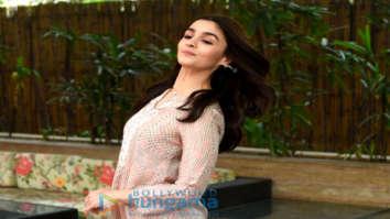 Alia Bhatt snapped promoting her film Raazi in Delhi