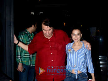 Ameesha Patel and Randhir Kapoor snapped at BKC