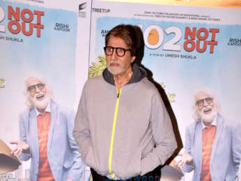 Amitabh Bachchan and Rishi Kapoor snapped promoting their film 102 Not Out