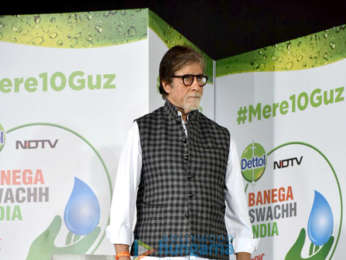 Amitabh Bachchan launches Banega Swach India - Season