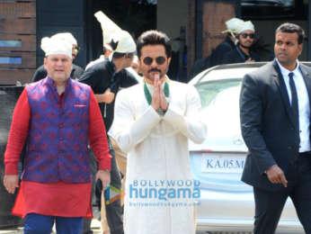 Anik Kapoor, Arjun Kapoor & others snapped attending Anand Ahuja-Sonam Kapoor's wedding