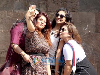Anjana Sukhani snapped at Indigo