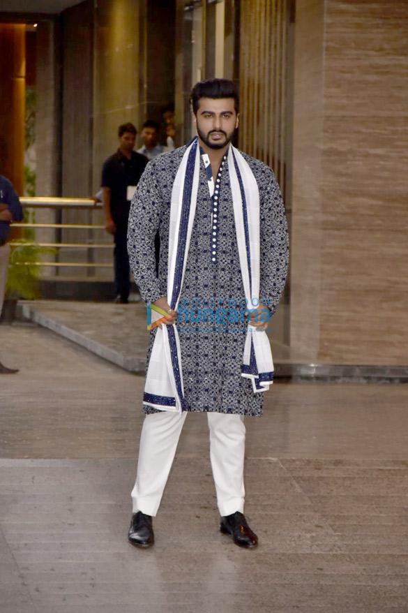 Arjun Kapoor at Sonam Kapoor and Anand Ahuja mehendi and sangeet