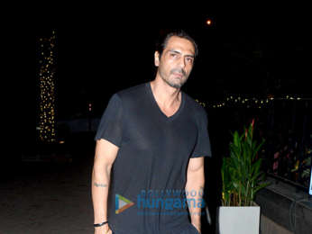 Arjun Rampal snapped with family at Yauatcha in BKC