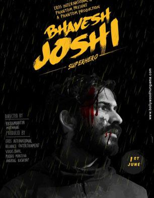 First Look Of Bhavesh Joshi Superhero