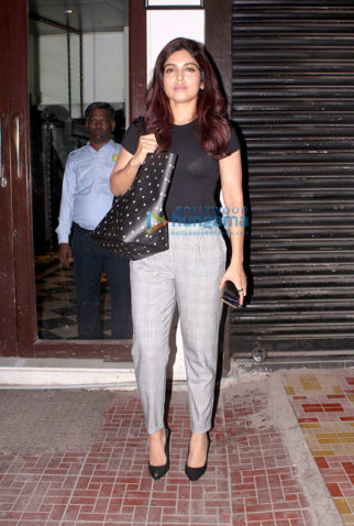 Bhumi Pednekar spotted at Bastian in Bandra