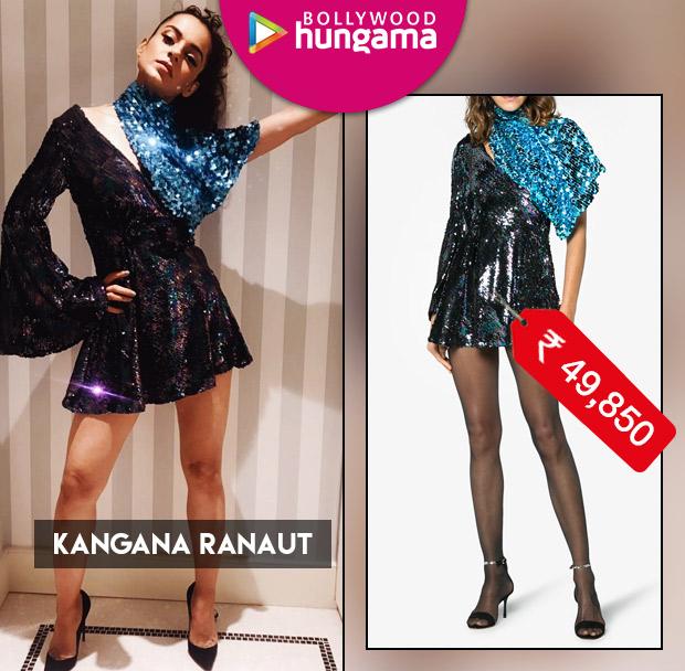 Cannes 2018 Celebrity Splurges Kangana Ranaut in Halpern Studio