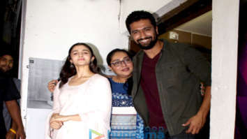 Celebs grace the special screening of the film Raazi at PVR Juhu