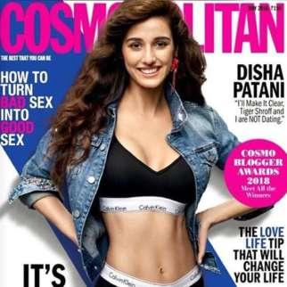 Disha Patani On The Cover Of Cosmopolitan