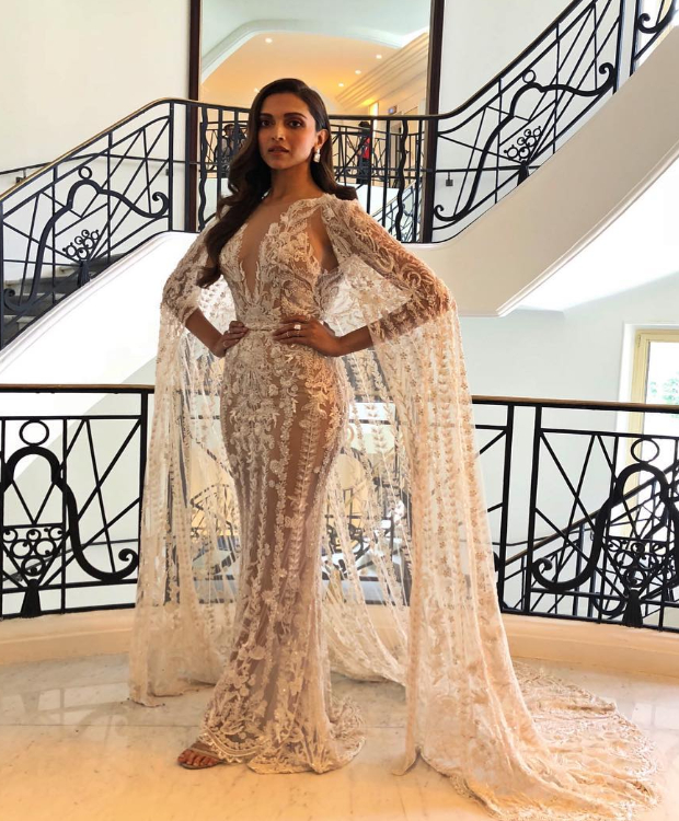 Deepika Padukone in Zuhair Murad gown at Cannes 2018