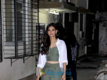 Diana Penty spotted at a dentist clinic