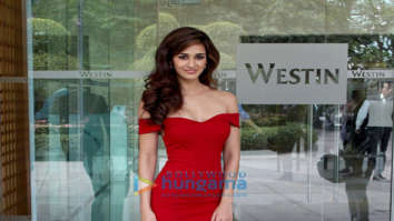 Disha Patani snapped at Westin hotel