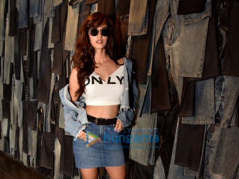 Disha Patani snapped attending an event for Only denims