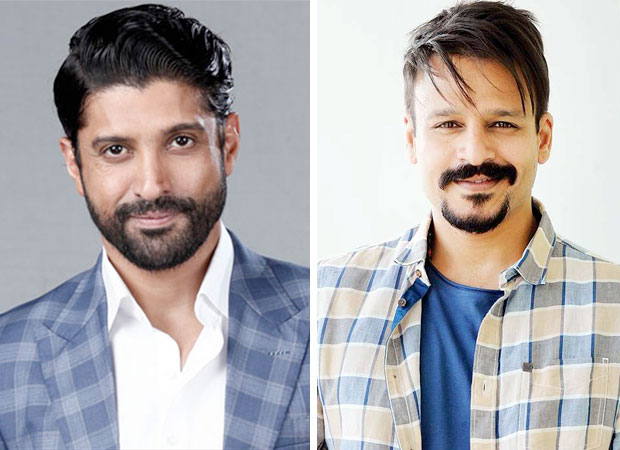 Farhan Akhtar and Vivek Oberoi collaborate but it is NOT for a film!