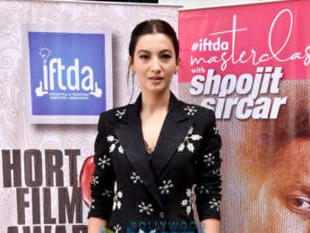 Gauahar Khan graces the IPTA meet with Shoojit Sircar