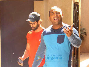 Hrithik Roshan spotted at Bblunt salon in Juhu