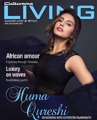 Huma Qureshi On The Cover Of Culturama Living