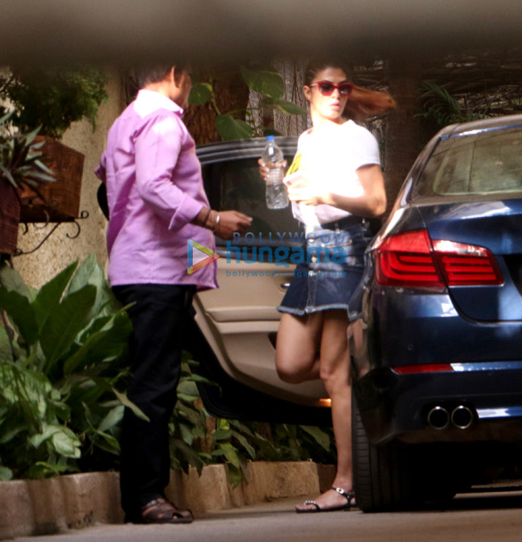 Jacqueline Fernandez spotted at Sunny Super Sound in Juhu