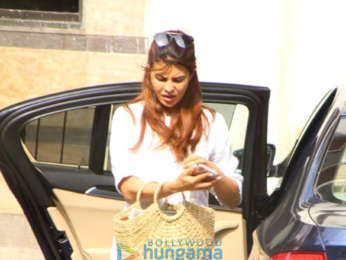 Jacquline Fernandez snapped in Bandra
